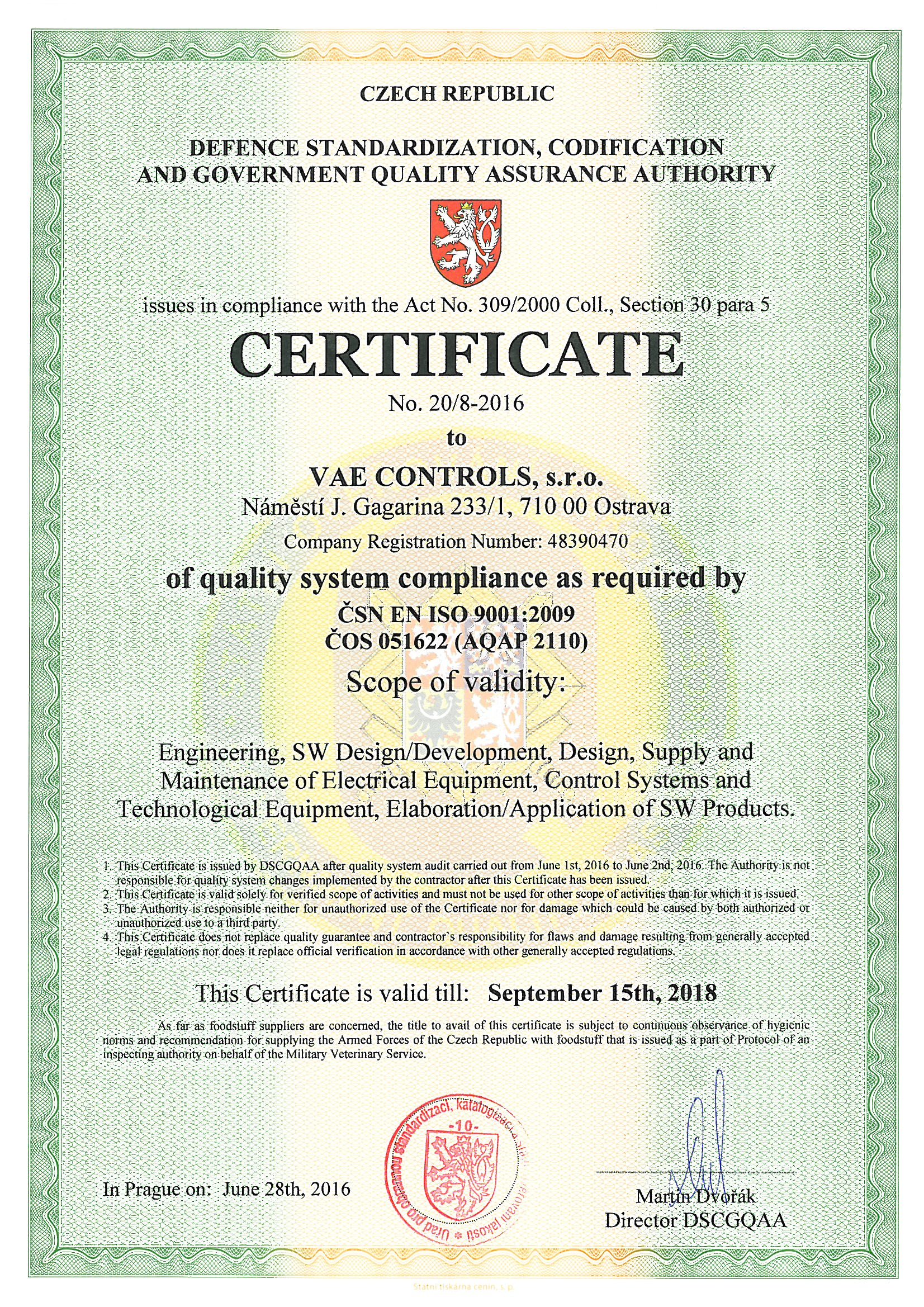 Certificates vae controls aqap 2110 1betcityfo Choice Image